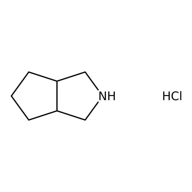 3-Azabicyclo[3.3.0]octane hydrochloride, 99%, ACROS Organics™  3-Azabicyclo[3.3.0]octane hydrochloride, 99%, ACROS Organics™