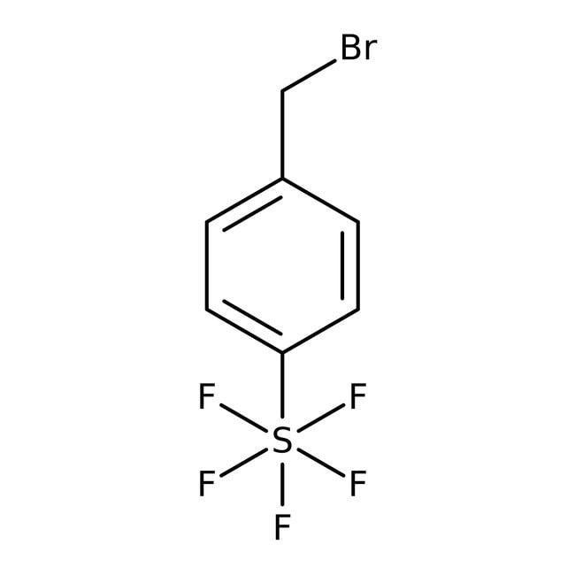 Alfa Aesar™4-(Pentafluorothio)benzyl bromide, 97%: Benzyl halides Benzene and substituted derivatives