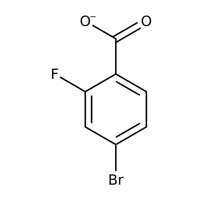 4-Bromo-2-fluorobenzoic acid, 98%, Acros Organics