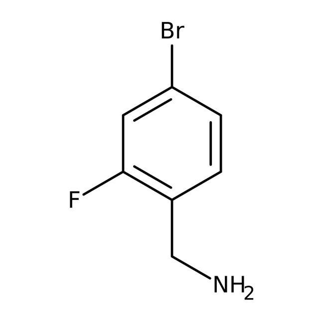 4-bromo-2-fluorobenzylamine, 98%, ACROS Organics