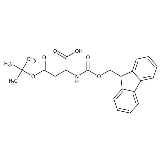 Alfa Aesar™N-Fmoc-D-aspartic acid 4-tert-butyl ester, 98% 1g Alfa Aesar™N-Fmoc-D-aspartic acid 4-tert-butyl ester, 98%