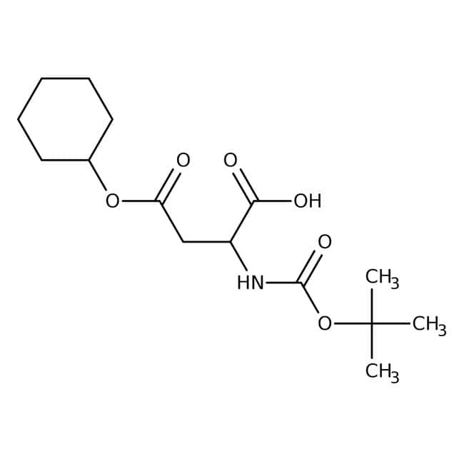 Alfa Aesar  N-Boc-D-aspartic acid 4-cyclohexyl ester, 95%