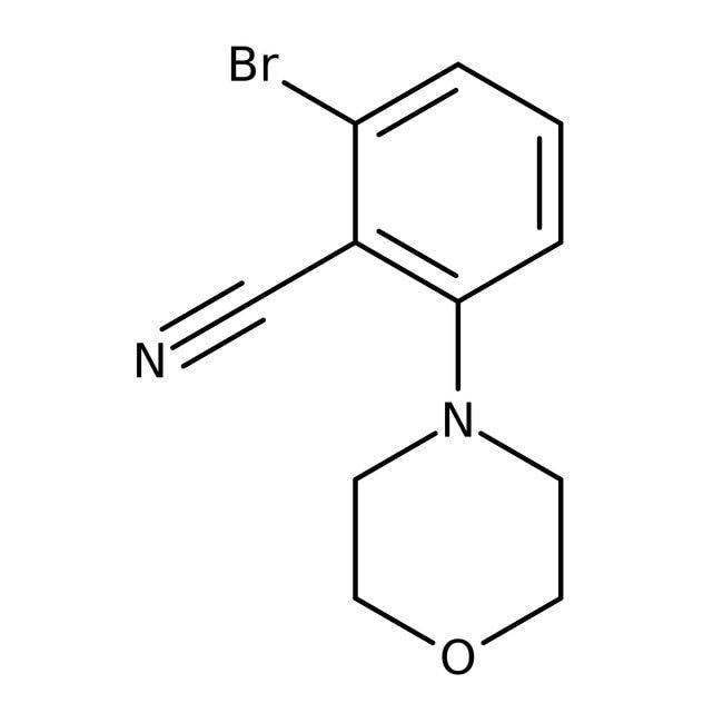 Alfa Aesar™2-Bromo-6-(4-morpholinyl)benzonitrile, 98%