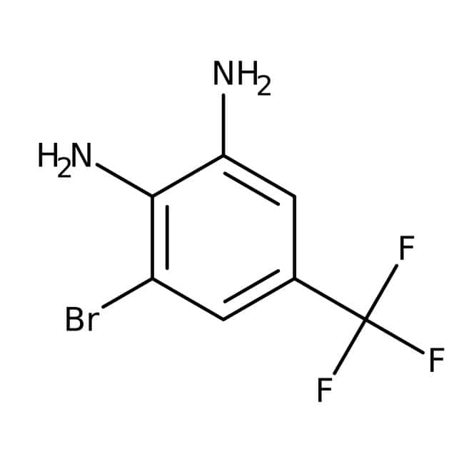 3-Bromo-5-(trifluoromethyl)benzene-1,2-diamine, 97%, Maybridge™