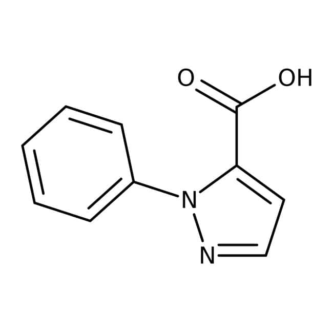 1-Phenyl-1H-pyrazole-5-carboxylic acid, 97%, Maybridge™