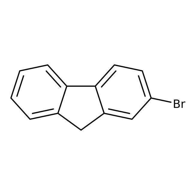 2-Bromofluorene, 95%, ACROS Organics™ 100g; Glass bottle 2-Bromofluorene, 95%, ACROS Organics™