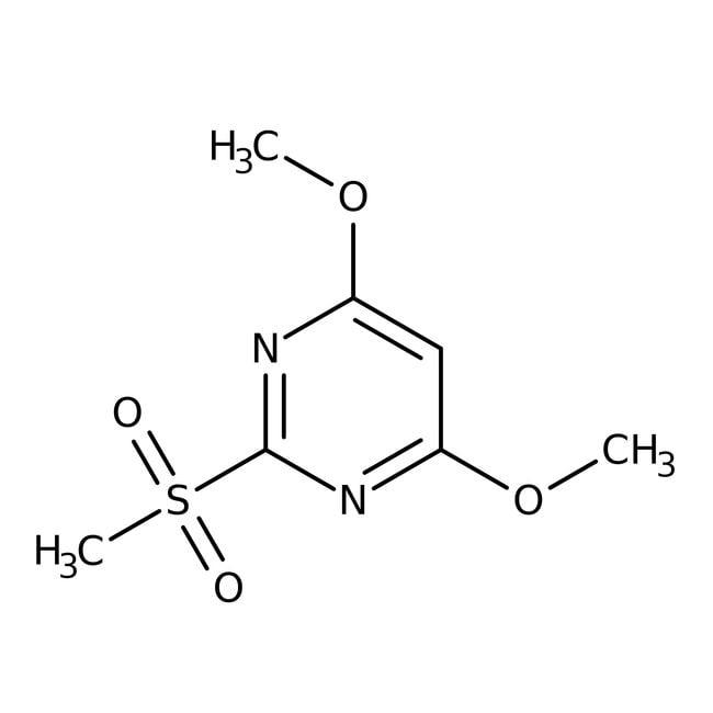 2-Methylsulfonyl-4,6-dimethoxypyrimidine, 97%, ACROS Organics™