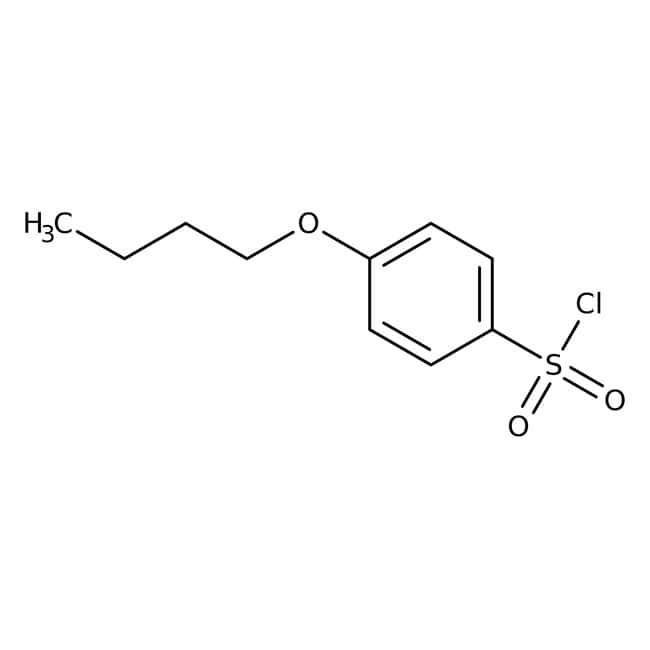 4-Butoxybenzene-1-sulfonyl chloride, 97%, Maybridge™ Amber Glass Bottle; 1g 4-Butoxybenzene-1-sulfonyl chloride, 97%, Maybridge™