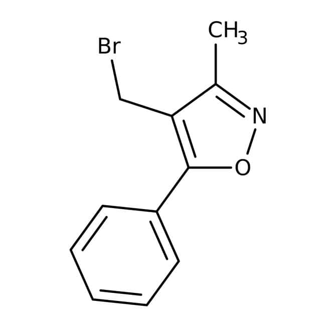4-(Bromomethyl)-3-methyl-5-phenylisoxazole, ≥95%, Maybridge