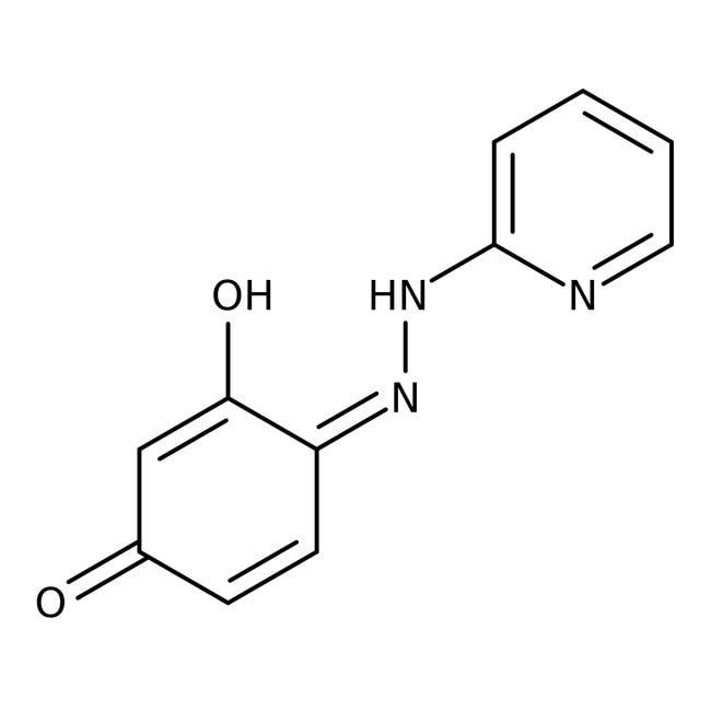 4-(2'-Pyridylazo)resorcinol, 97+%, ACS reagent, Acros Organics 5g; Glass bottle 4-(2'-Pyridylazo)resorcinol, 97+%, ACS reagent, Acros Organics