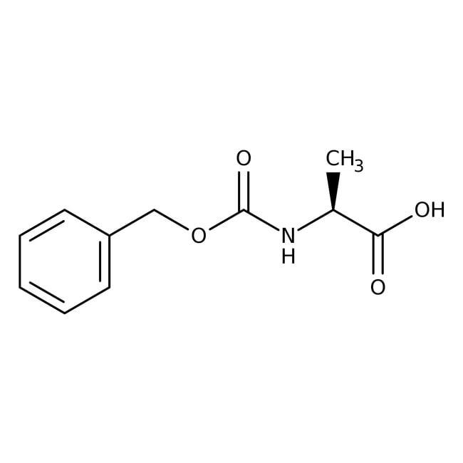 N-Carbobenzyloxy-L-alanine, 98%, ACROS Organics™ 25g N-Carbobenzyloxy-L-alanine, 98%, ACROS Organics™