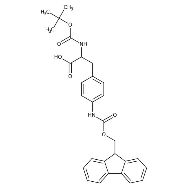 Alfa Aesar™N-Boc-4-(Fmoc-amino)-L-phenylalanine, 95% 1g Alfa Aesar™N-Boc-4-(Fmoc-amino)-L-phenylalanine, 95%