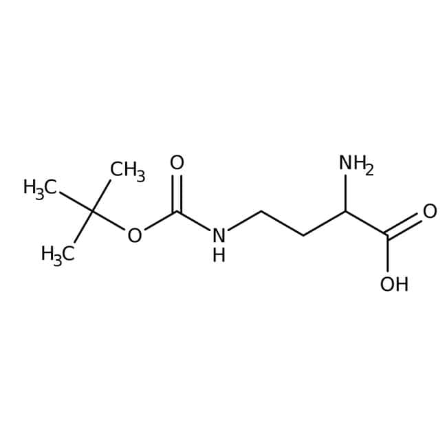 Alfa Aesar™(R)-2-Amino-4-(Boc-amino)butyric acid, 96% 1g Alfa Aesar™(R)-2-Amino-4-(Boc-amino)butyric acid, 96%