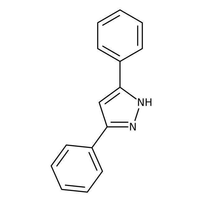 3,5-Diphenylpyrazole, 99%, ACROS Organics™ 25g; Glass bottle 3,5-Diphenylpyrazole, 99%, ACROS Organics™