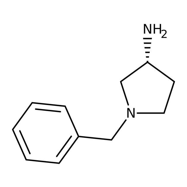 (R)-(-)-1-Benzyl-3-aminopyrrolidine, 99%, ACROS Organics™