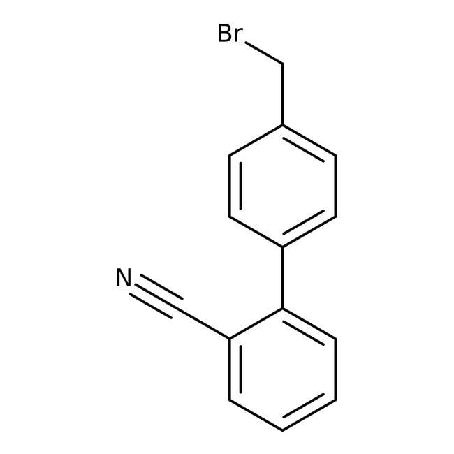 Alfa Aesar™4'-(Bromomethyl)biphenyl-2-carbonitrile, 98%