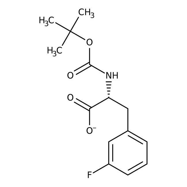 (R)-N-BOC-3-Fluorophenylalanine, 95%, 98% e.e., ACROS Organics