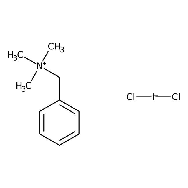 Benzyltrimethylammonium dichloroiodate, 99%, ACROS Organics™