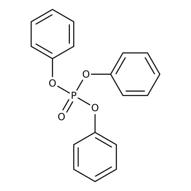 Triphenyl phosphate, 99+%, ACROS Organics™ 250g; Plastic bottle Triphenyl phosphate, 99+%, ACROS Organics™