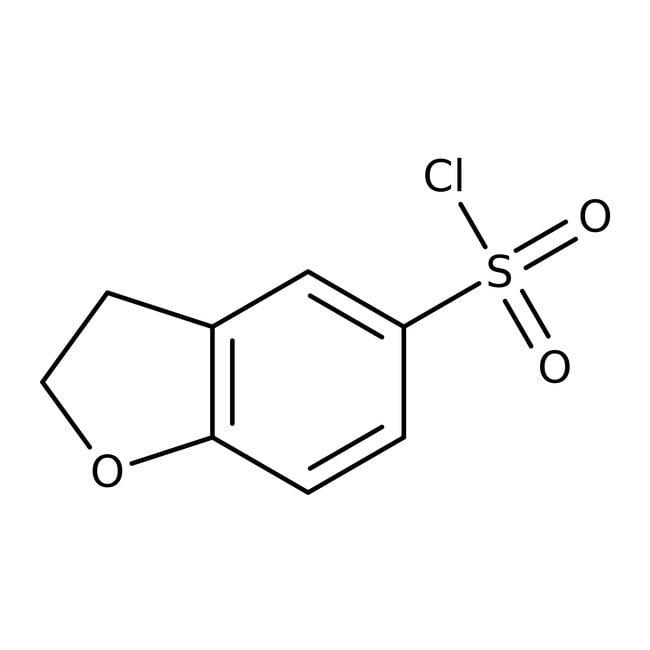2,3-Dihydro-1-benzofuran-5-sulfonyl chloride, 97%, Maybridge™ Amber Glass Bottle; 1g 2,3-Dihydro-1-benzofuran-5-sulfonyl chloride, 97%, Maybridge™