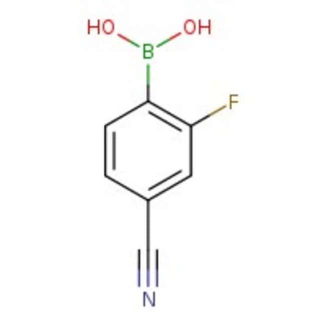 Alfa Aesar™4-Cyano-2-fluorobenzeneboronic acid, 98%