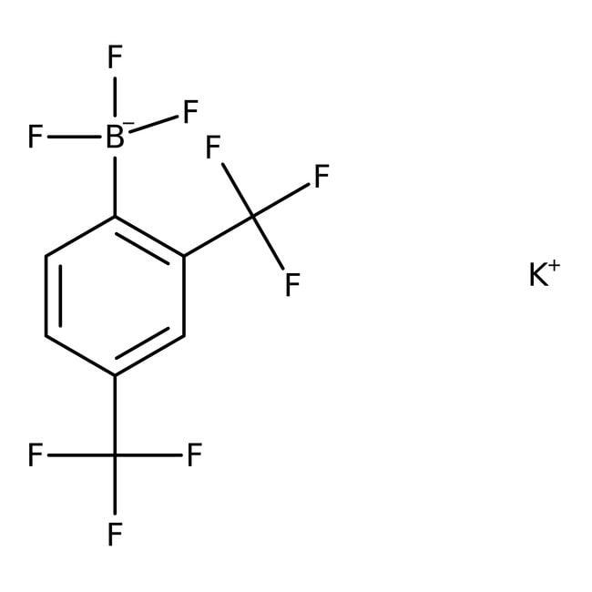 Alfa Aesar™Potassium 2,4-bis(trifluoromethyl)phenyltrifluoroborate, 95% 5g Alfa Aesar™Potassium 2,4-bis(trifluoromethyl)phenyltrifluoroborate, 95%