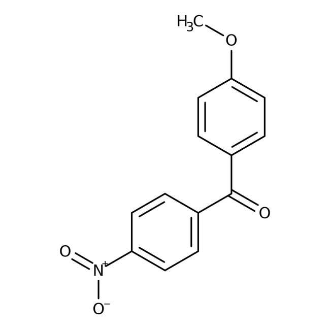 Alfa Aesar™4-Methoxy-4'-nitrobenzophenone, 97% 1g Alfa Aesar™4-Methoxy-4'-nitrobenzophenone, 97%