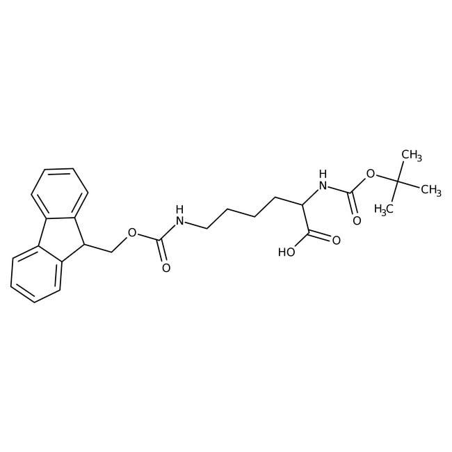 Alfa Aesar  Nalpha-Boc-Nepsilon-Fmoc-D-lysine, 95%