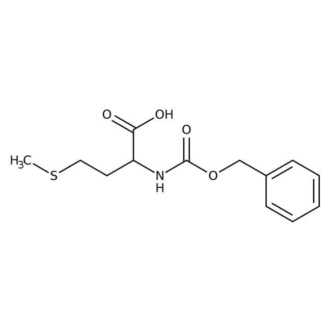 N-Carbobenzyloxy-L-methionine, 97%, ACROS Organics™ 5g N-Carbobenzyloxy-L-methionine, 97%, ACROS Organics™