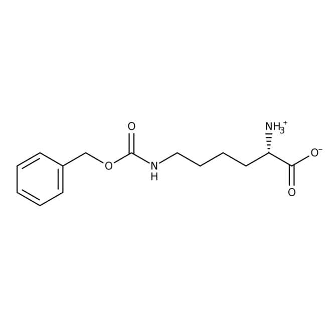 N-ε-Carbobenzyloxy-L-lysine, 98%, ACROS Organics™: Fatty acids and conjugates Fatty Acyls
