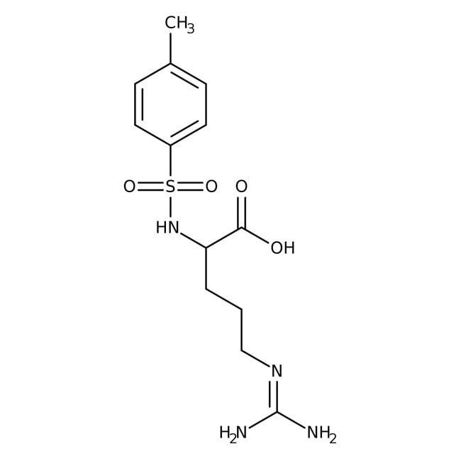 Alfa Aesar™Nalpha-p-Toluenesulfonyl-L-arginine, 98% 25g Alfa Aesar™Nalpha-p-Toluenesulfonyl-L-arginine, 98%