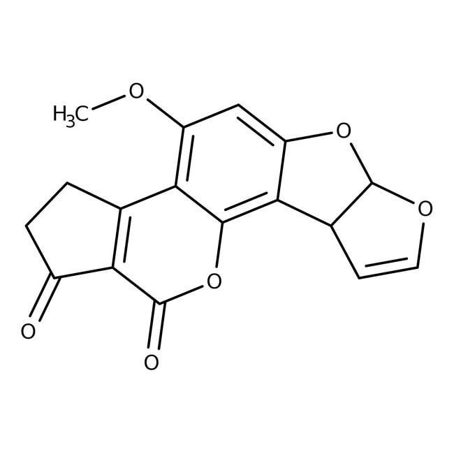 Aflatoxin B1, crystalline, ACROS Organics™ 10mg; Plastic bottle Aflatoxin B1, crystalline, ACROS Organics™