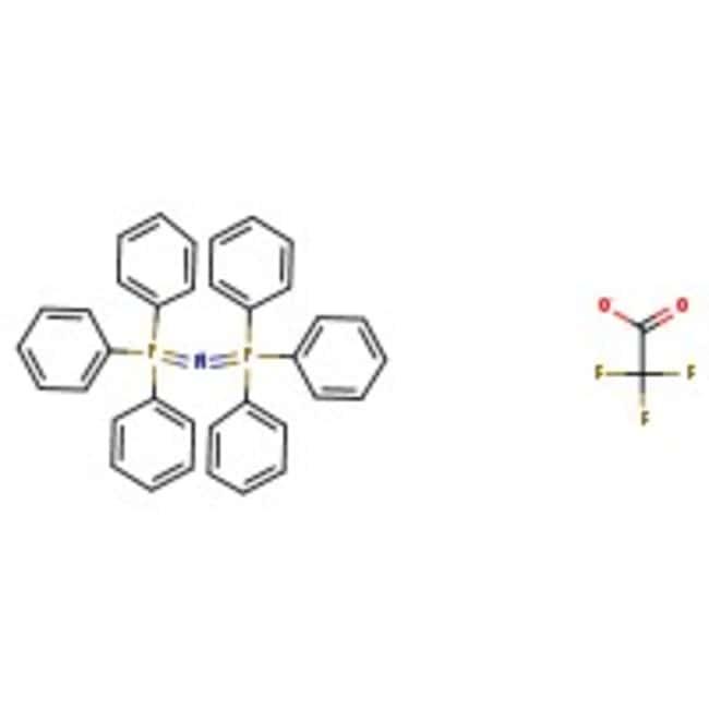 Alfa Aesar™Bis-(triphenylphosphin)-iminiumtrifluoracetat, 98% 25g Alfa Aesar™Bis-(triphenylphosphin)-iminiumtrifluoracetat, 98%