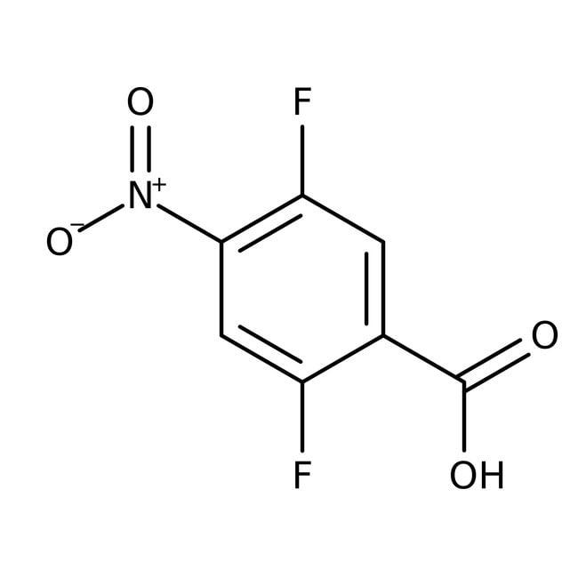Alfa Aesar™2,5-Difluor-4-Nitrobenzoesäure, 97% 1g Alfa Aesar™2,5-Difluor-4-Nitrobenzoesäure, 97%
