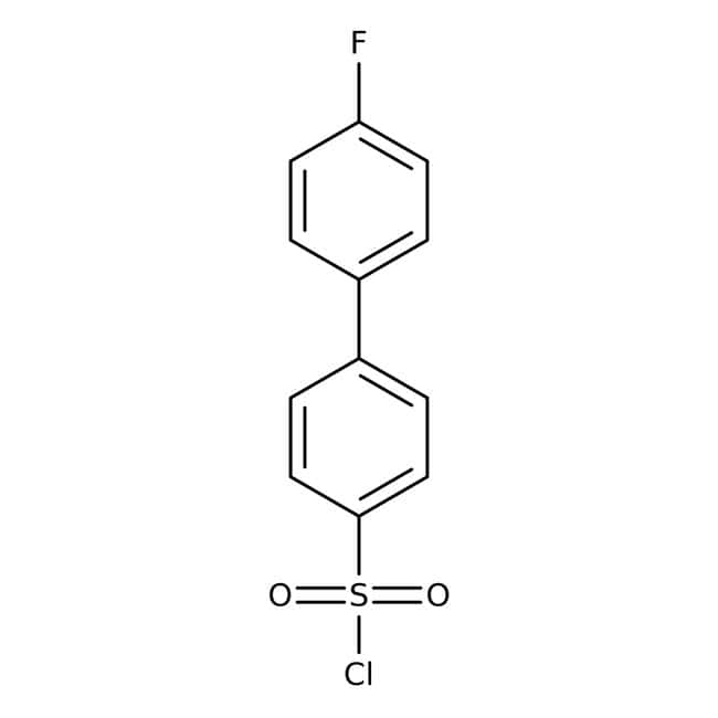 4'-Fluorobiphenyl-4-sulfonyl chloride, 97%, Acros Organics™ 1g 4'-Fluorobiphenyl-4-sulfonyl chloride, 97%, Acros Organics™