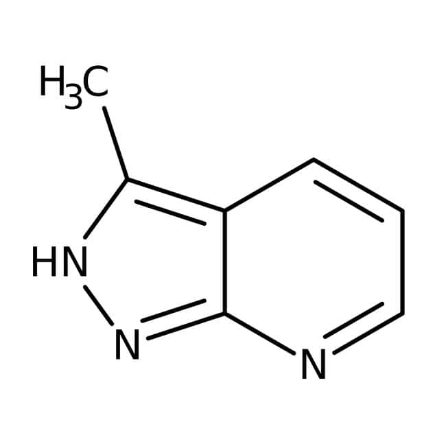 3-Methyl-1H-pyrazolo[3,4-b]pyridine, 95%, Alfa Aesar™ 1g 3-Methyl-1H-pyrazolo[3,4-b]pyridine, 95%, Alfa Aesar™