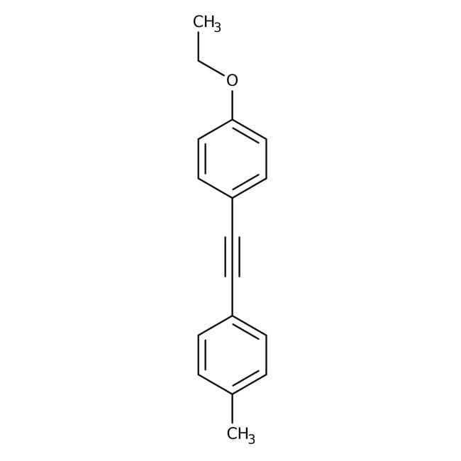 1-Ethoxy-4-[2-(4-methylphenyl)ethynyl]benzene, 99%, Alfa Aesar™ 1g 1-Ethoxy-4-[2-(4-methylphenyl)ethynyl]benzene, 99%, Alfa Aesar™