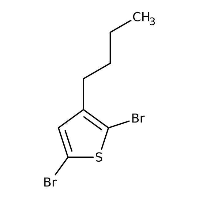 Alfa Aesar™2,5-Dibromo-3-n-butylthiophene, 96%