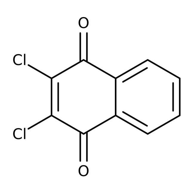 2,3-Dichloro-1,4-naphthoquinone, 98%, ACROS Organics™ 100g; Glass bottle 2,3-Dichloro-1,4-naphthoquinone, 98%, ACROS Organics™
