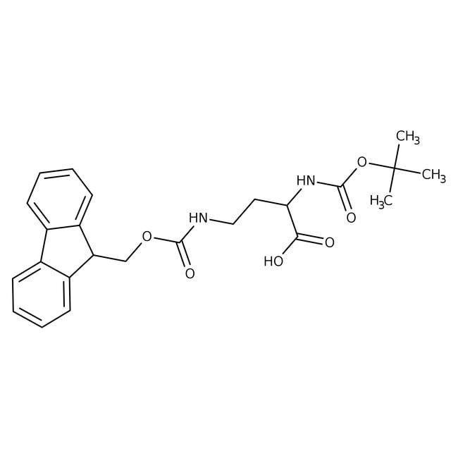 Alfa Aesar™(S)-2-(Boc-amino)-4-(Fmoc-amino)butyric acid, 95% 1g Alfa Aesar™(S)-2-(Boc-amino)-4-(Fmoc-amino)butyric acid, 95%