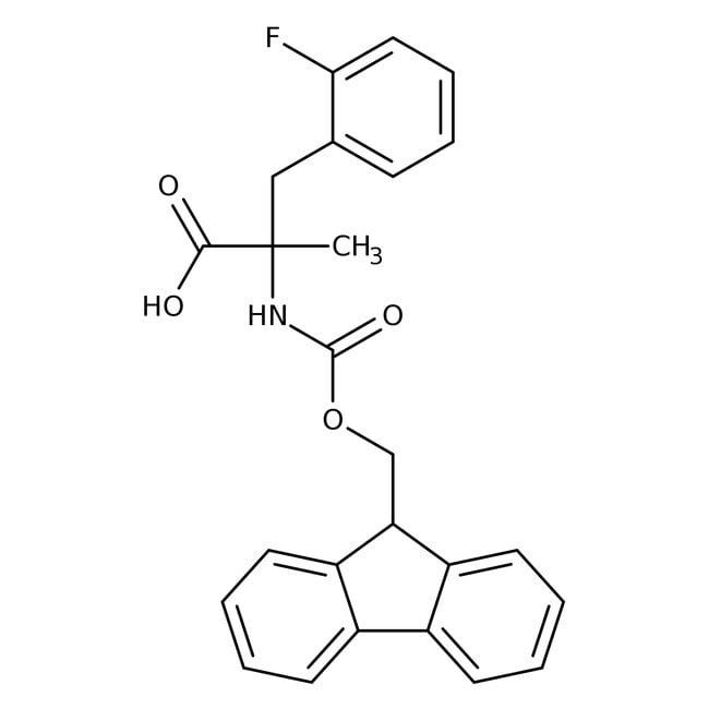 (S)-N-FMOC-α-Methyl-2-fluorophenylalanine, 98%, 98% ee, ACROS Organics™