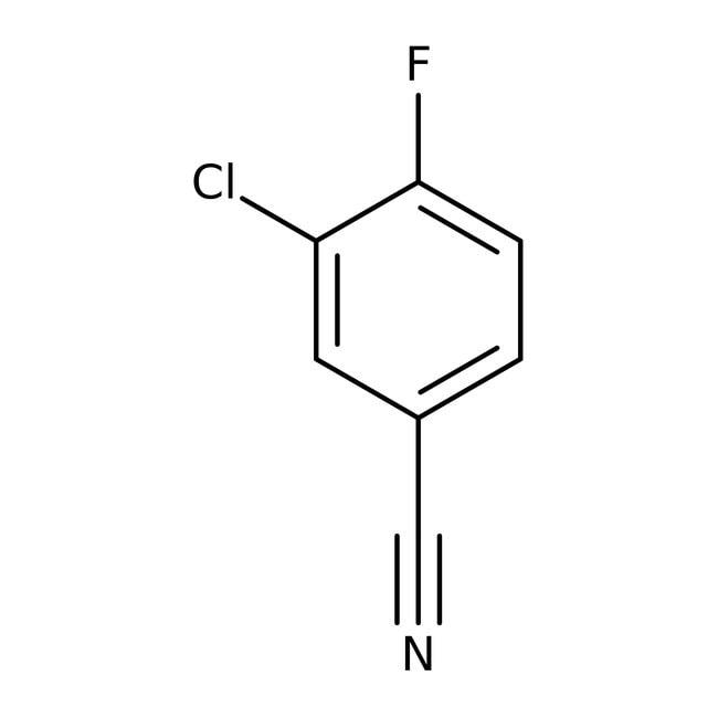 Alfa Aesar  3-Chloro-4-fluorobenzonitrile, 98+%