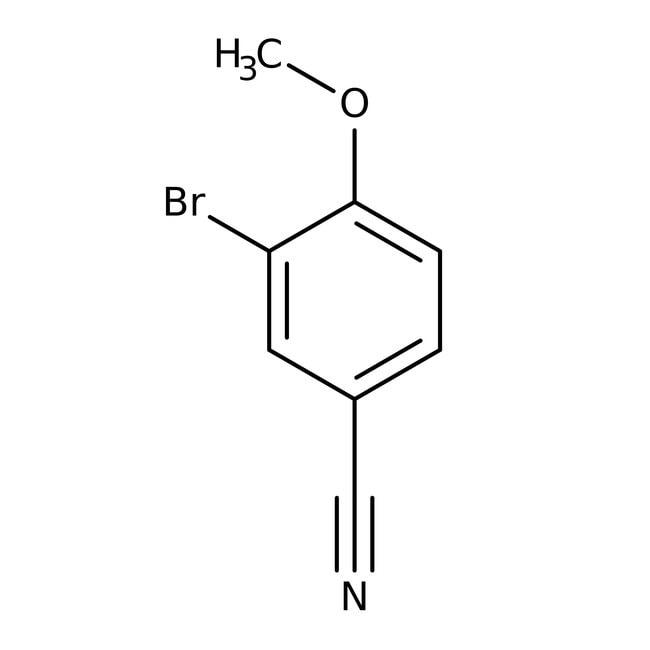 3-Bromo-4-methoxybenzonitrile, 99%, ACROS Organics™