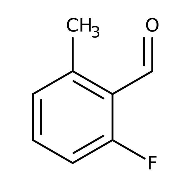 Alfa Aesar™2-Fluoro-6-methylbenzaldehyde, 97% 1g Alfa Aesar™2-Fluoro-6-methylbenzaldehyde, 97%