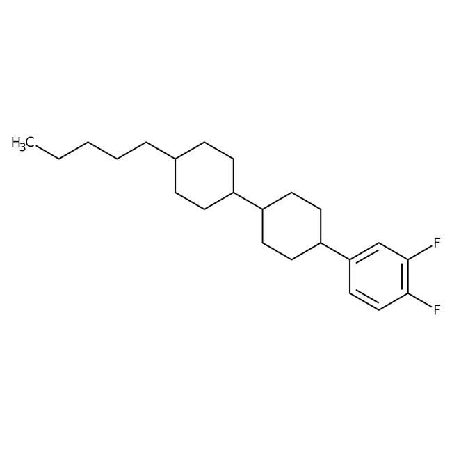 Alfa Aesar™trans,trans-4-(3,4-Difluorophenyl)-4'-n-pentylbicyclohexyl, 97%
