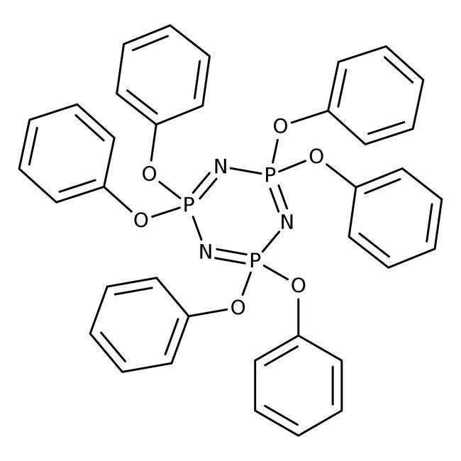 Hexaphenoxycyclotriphosphazene 98.0+%, TCI America™