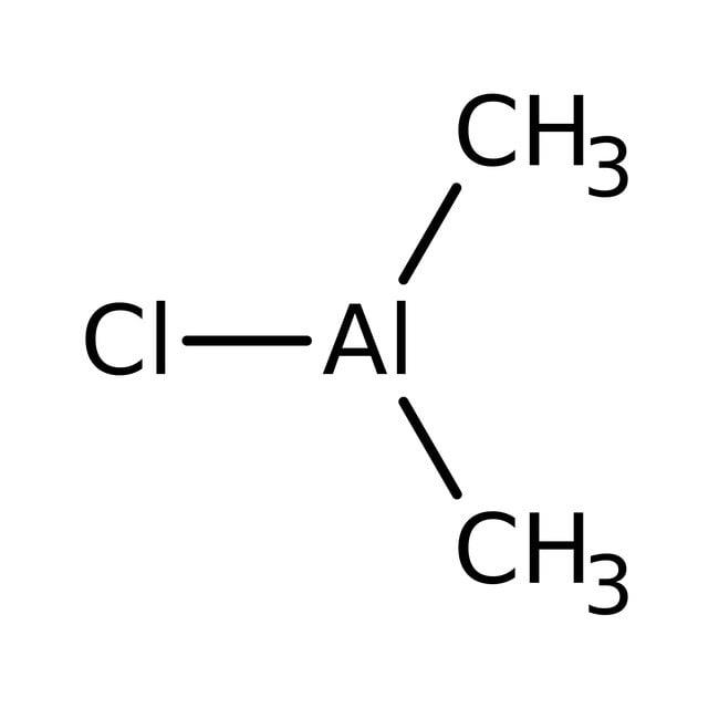 Dimethylaluminium chloride, 0.9M solution in heptane, AcroSeal , Acros Organics