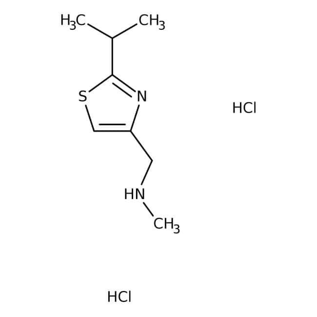 2-Isopropyl-4-(N-methylaminomethyl)thiazole Dihydrochloride 98.0+%, TCI America™