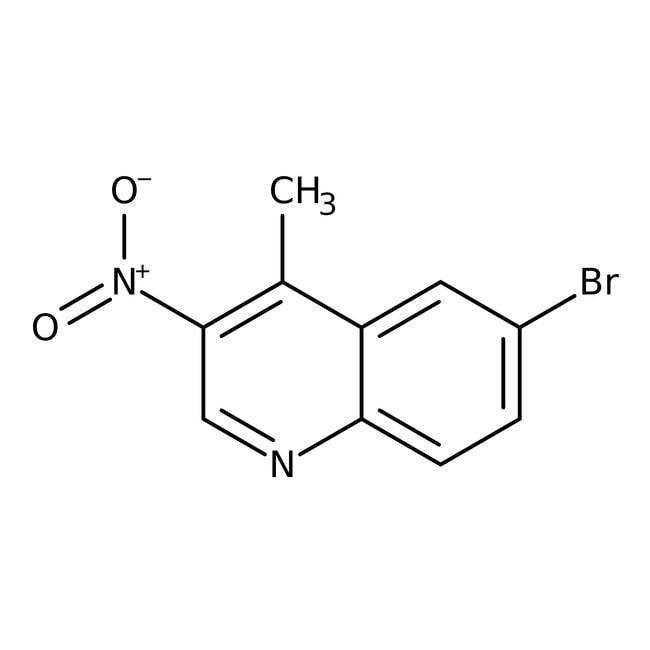 Alfa Aesar™6-Bromo-4-methyl-3-nitroquinoline, 96%