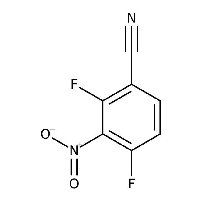 2,4-Difluoro-3-nitrobenzonitrile, 97%, ACROS Organics™